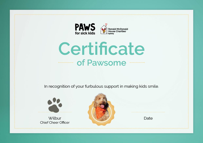 PFSK Certificate